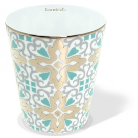 PRECIOUS REFILLABLE CANDLE - T'ame turquoise