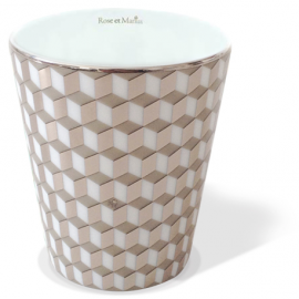 PRECIOUS REFILLABLE CANDLE - Tometo Taupe