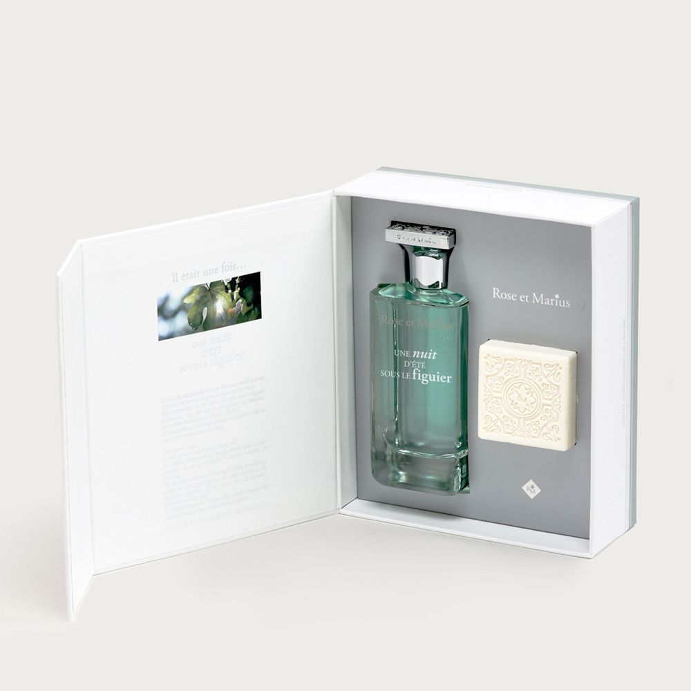 Eau de parfum & soap - a mid-summer's night under the fig tree