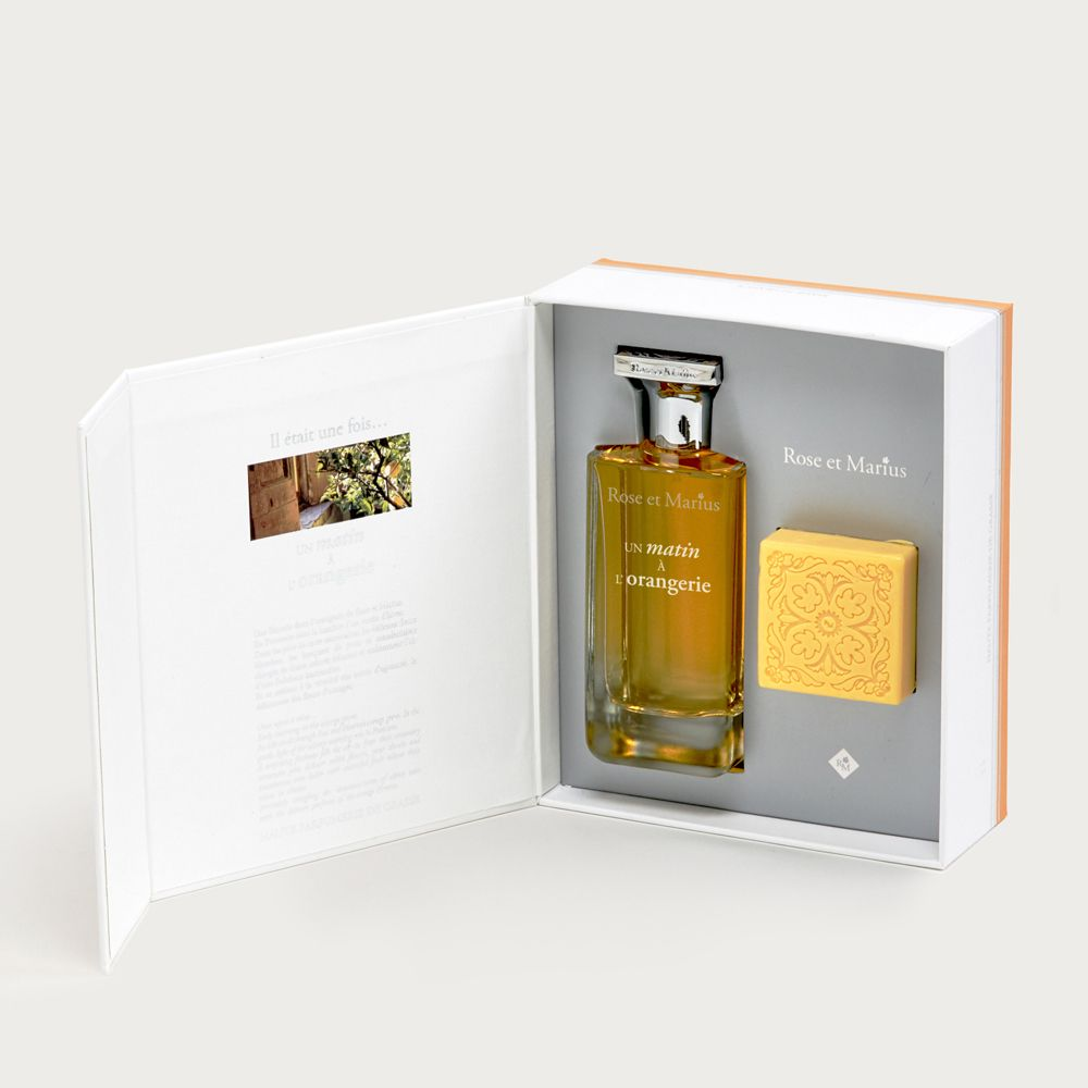 Eau de parfum & soap - early morning in the orange grove
