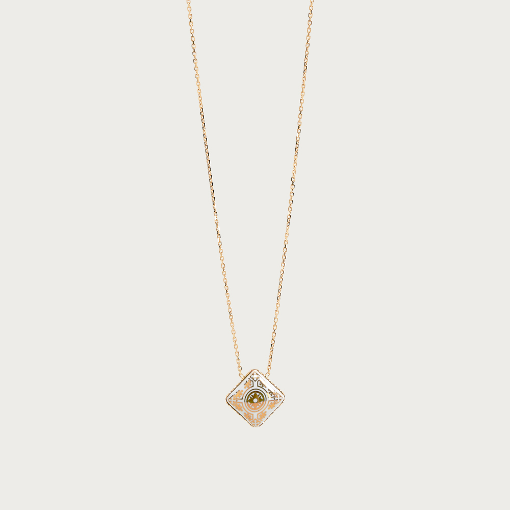 Gold 750 necklace - casteu gold