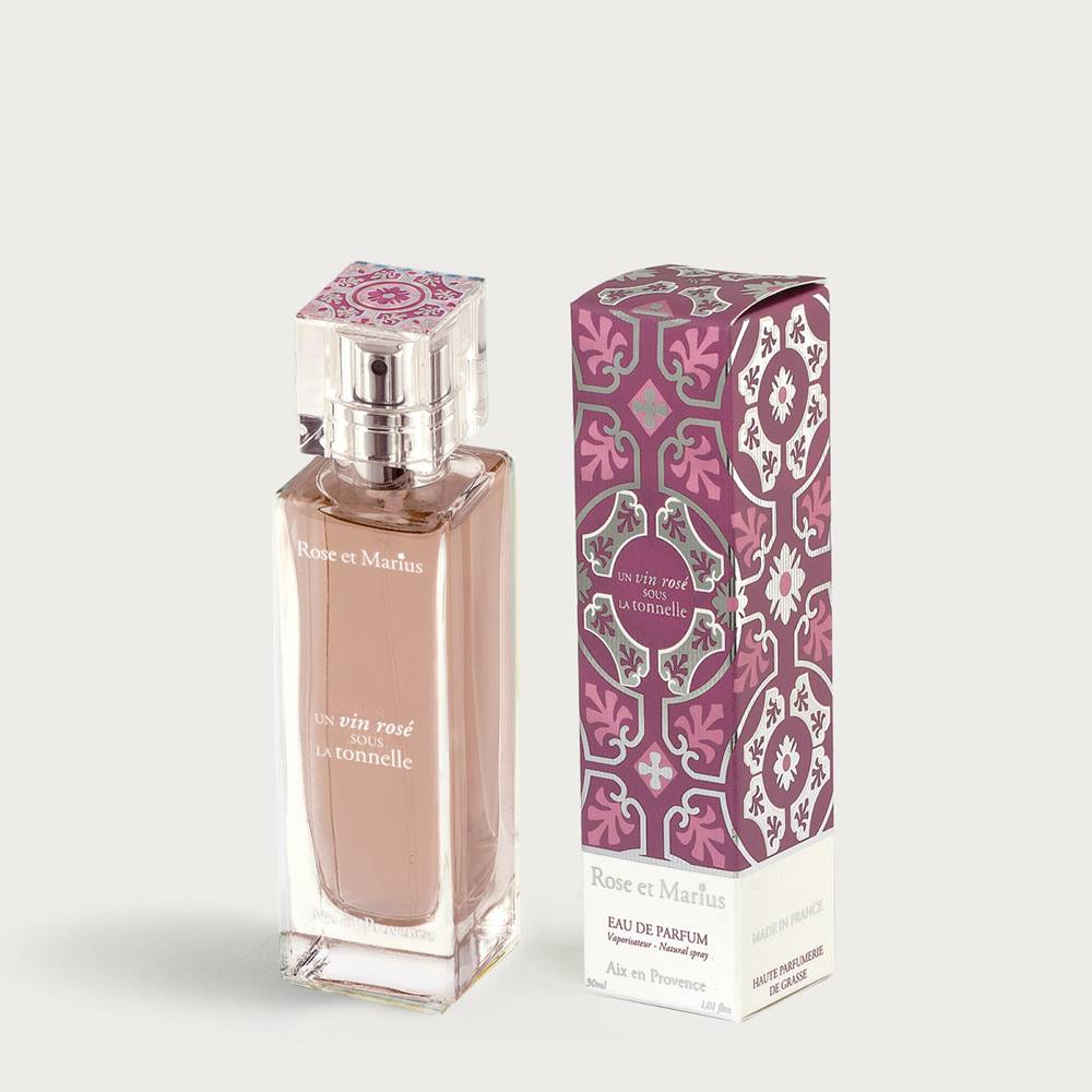 Eau de parfum 30ml - Rosé wine under the arbour