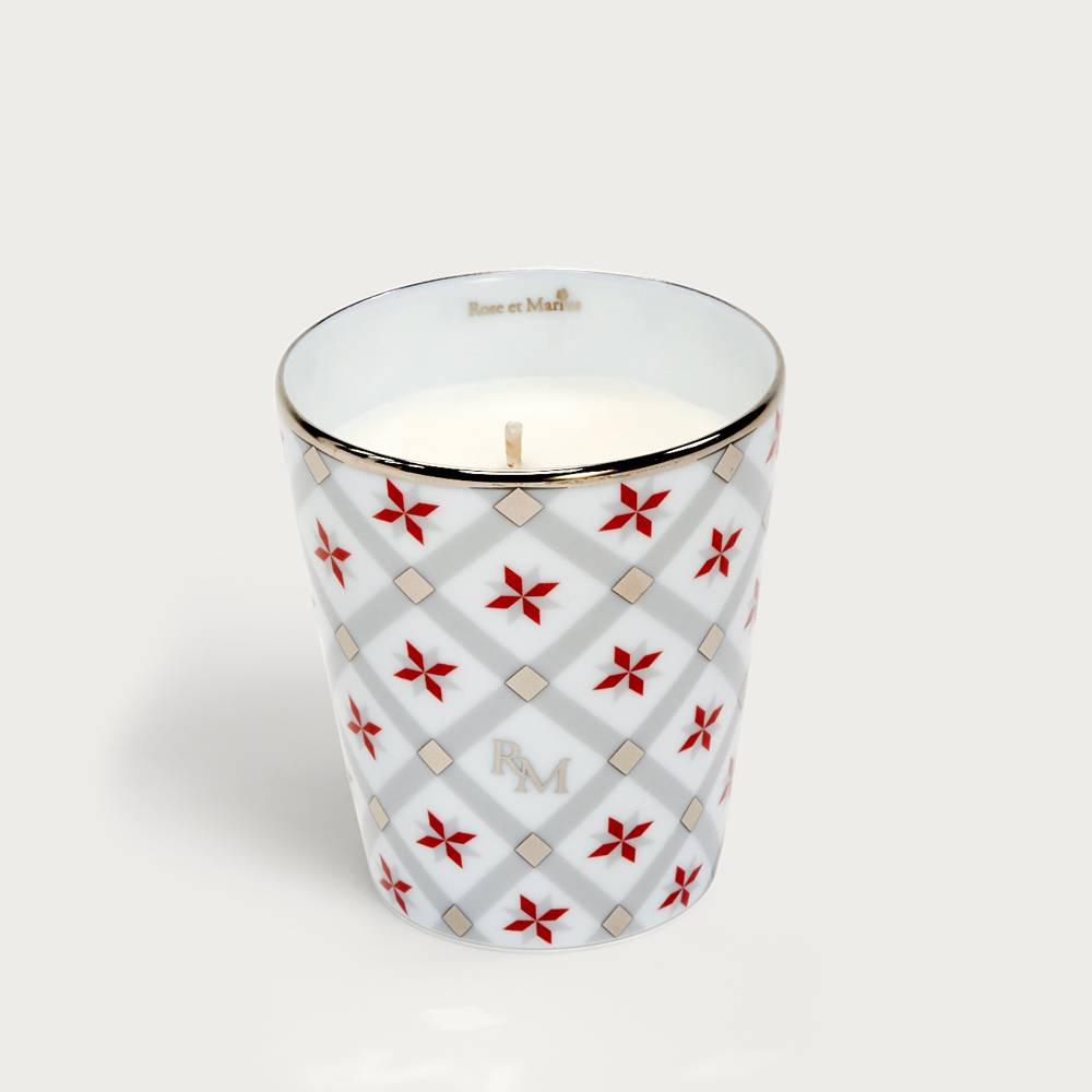 Precious refillable candle - Bastido red
