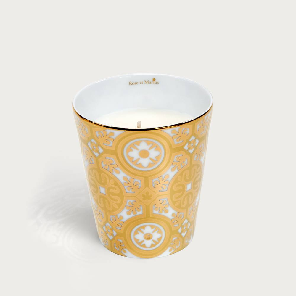 Precious refillable candle - Casteu gold