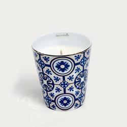 Precious refillable candle - casteu blue