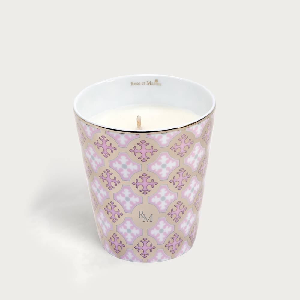 Precious refillable candle - Neou pink