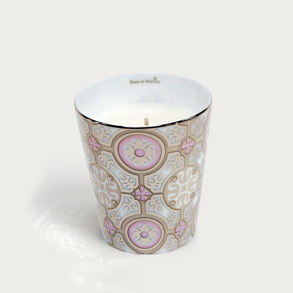 Precious refillable candle - Casteu pink