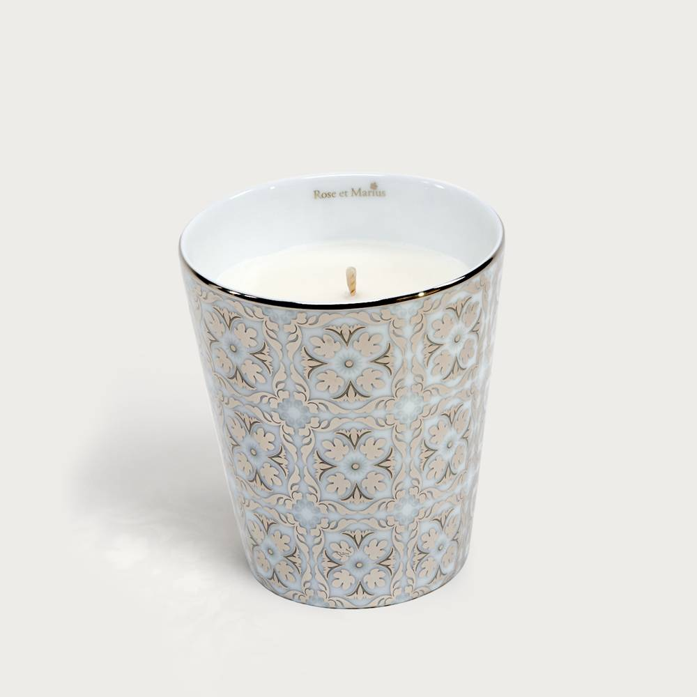 Precious refillable candle - Cabanoun platinum