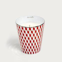 Precious refillable candle - mini tometo red