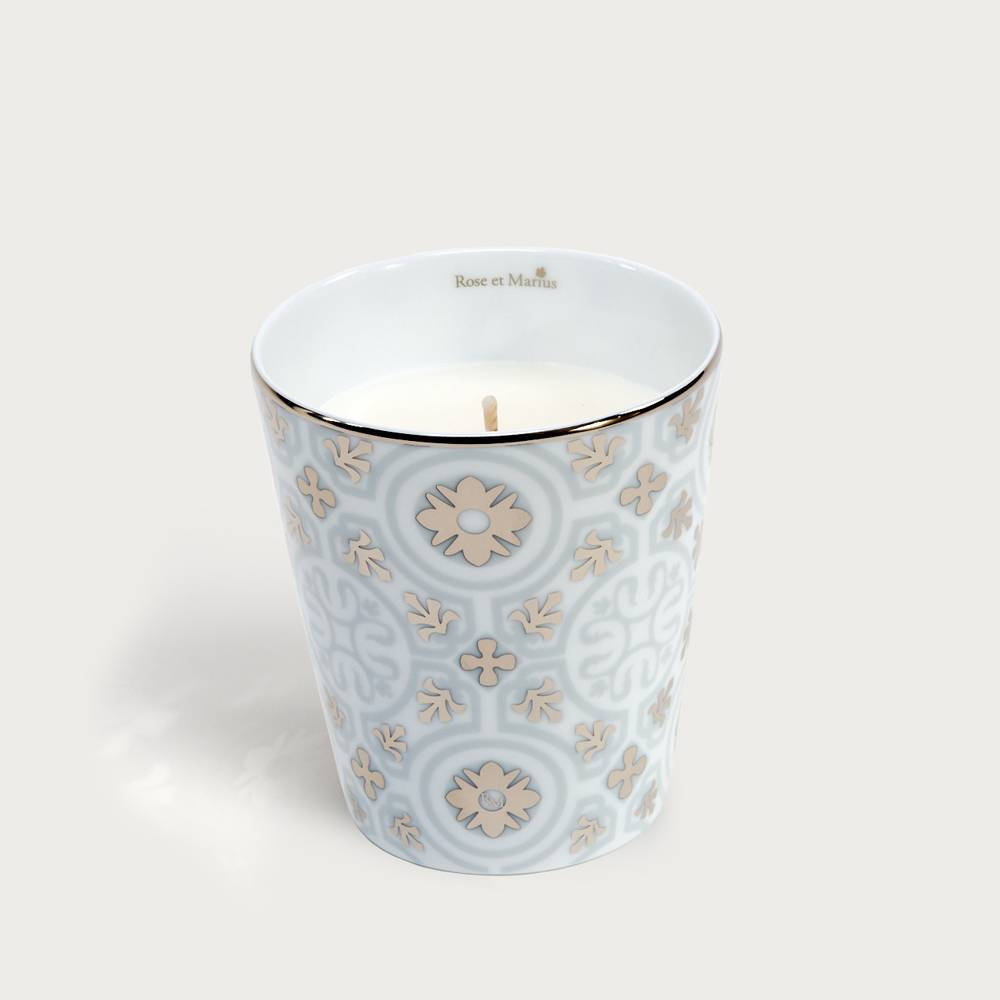 PRECIOUS REFILLABLE CANDLE - Casteu Gray