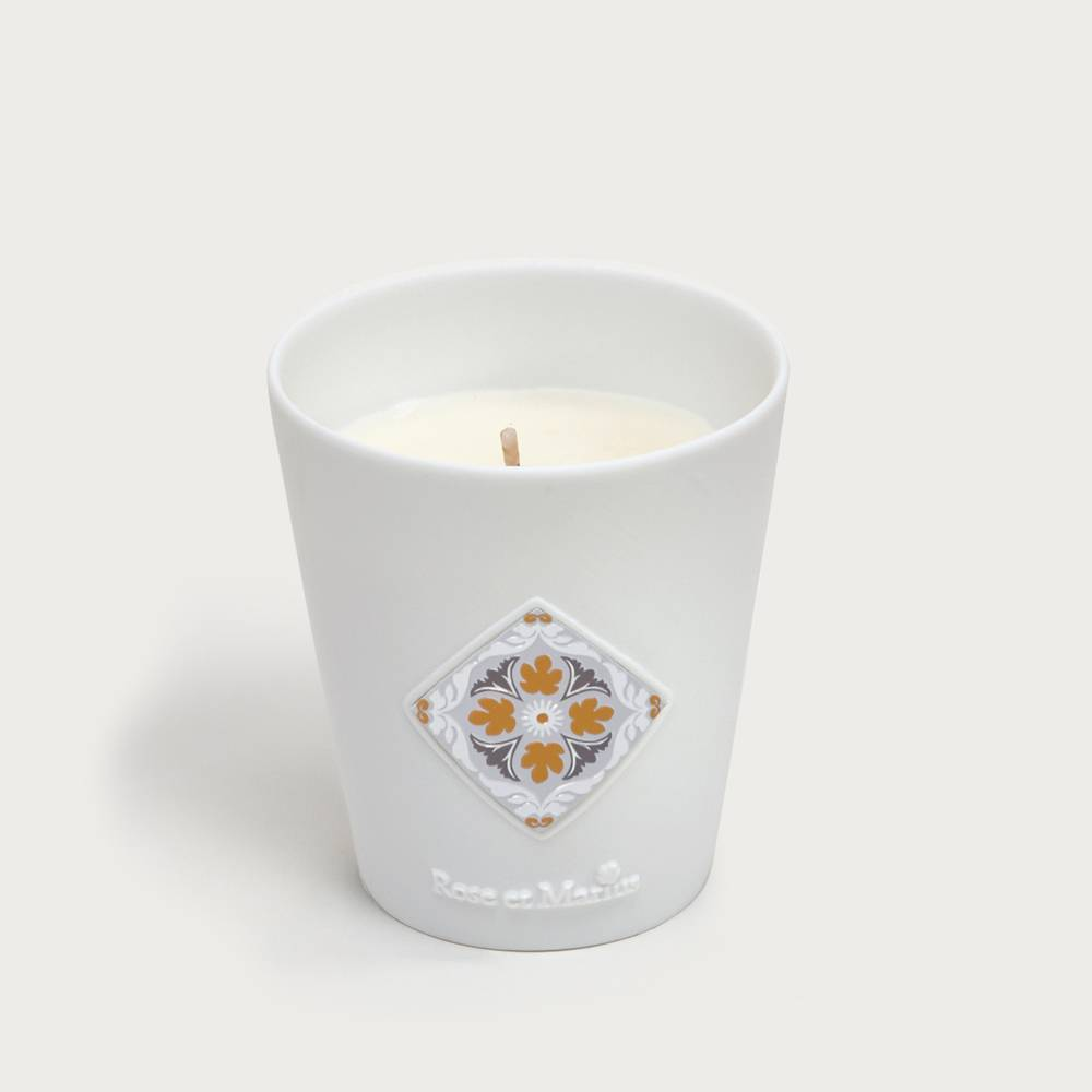 Scented candle - early morning in the orange grove