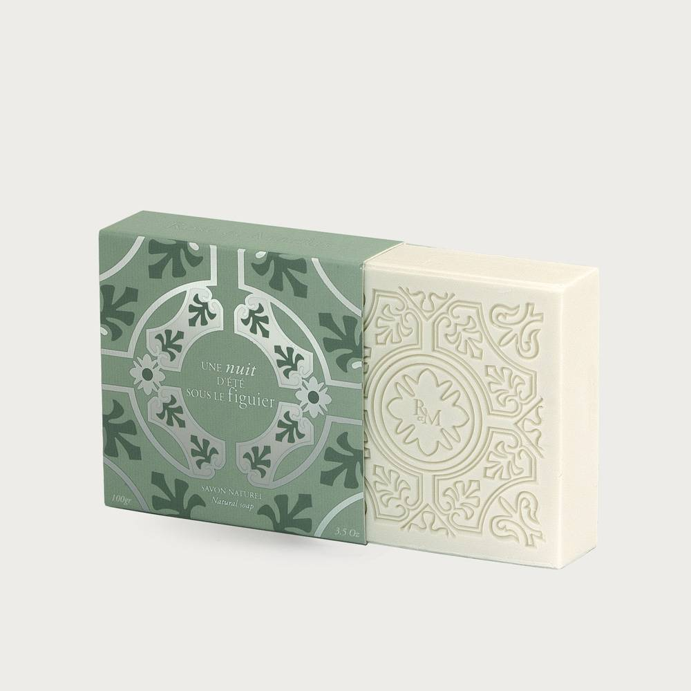 Natural soap - A mid-summer's night under the fig tree