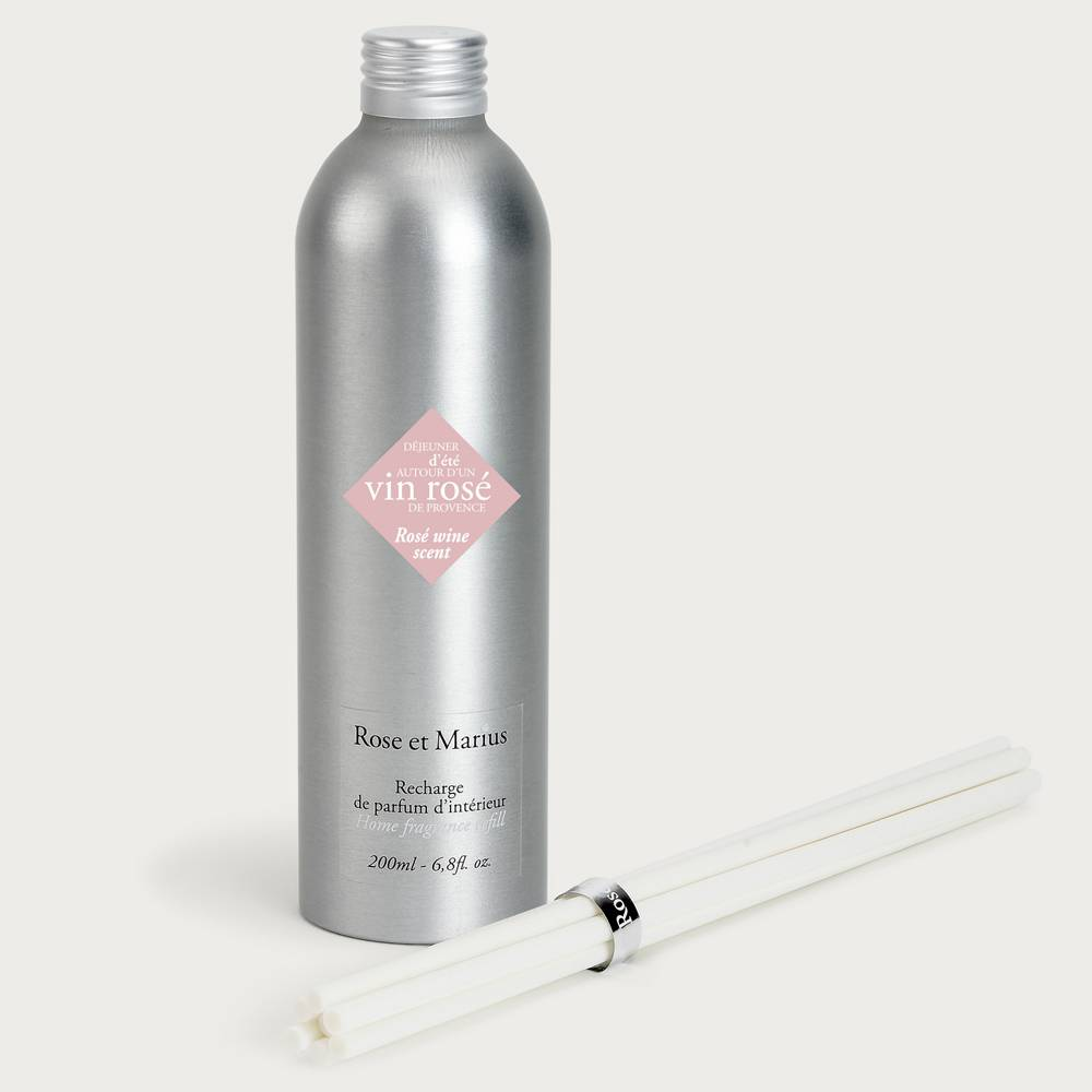 Home fragrance diffuser refill - rosé wine