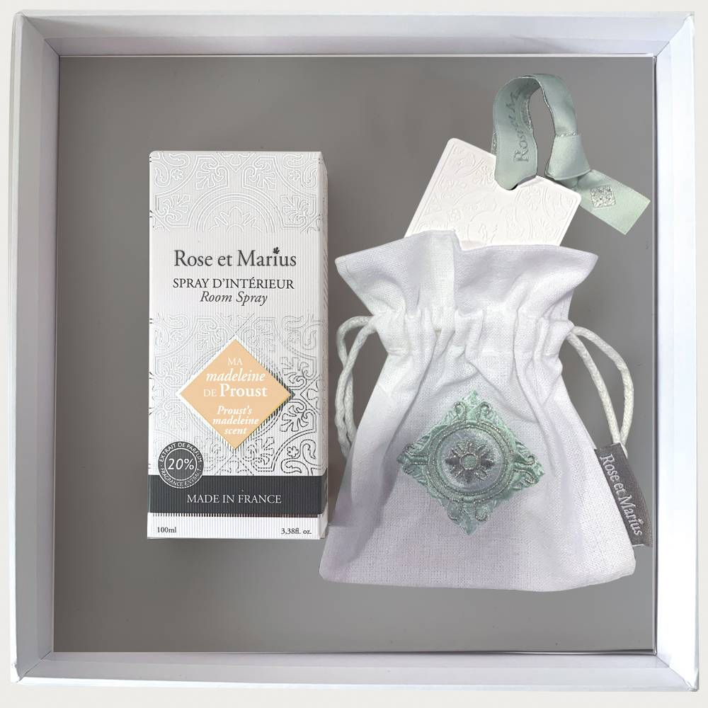 Home fragrance gift set - My Proust madeleine