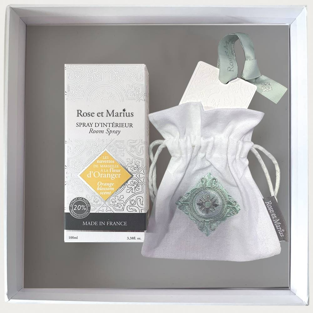 Home fragrance gift set - Orange blossom