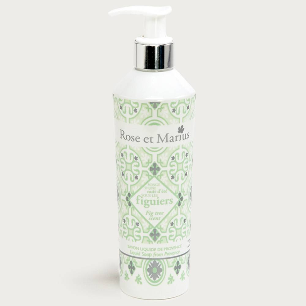 Natural liquid soap - fig trees
