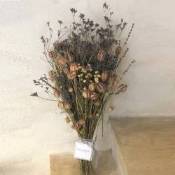 Dried rose flowers