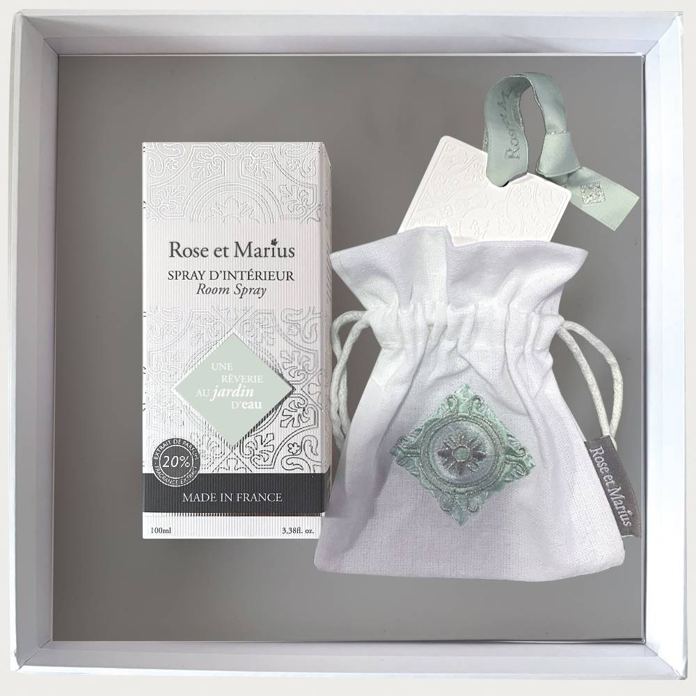 Home fragrance gift set - A daydream in the water garden